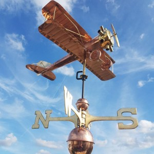 copper weathervanes