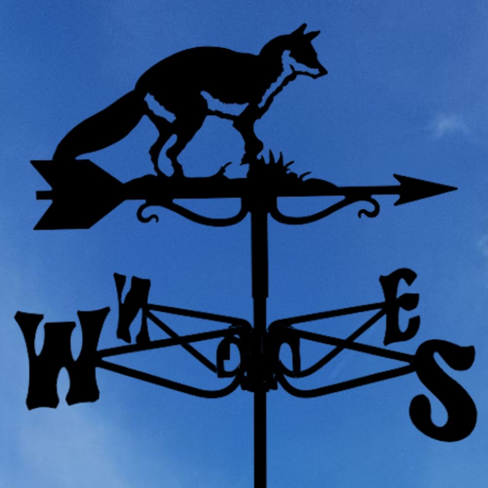 mini fox weathervane