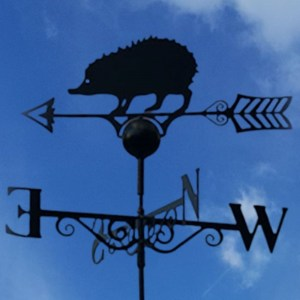 hedgehog weathervane